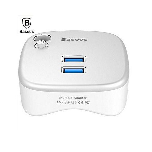 Baseus Notebook Expansion Dock - 2-портов USB хъб с Gigabit Ethernet и четец за SD/microSD карти за MacBook и преносими компютри