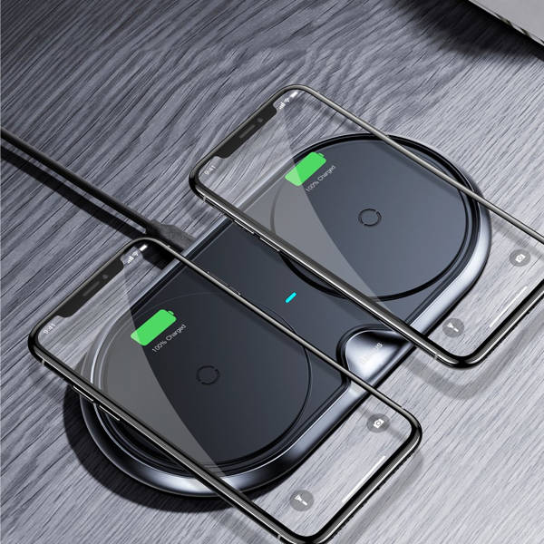 Baseus Dual Wireless Charger (black)