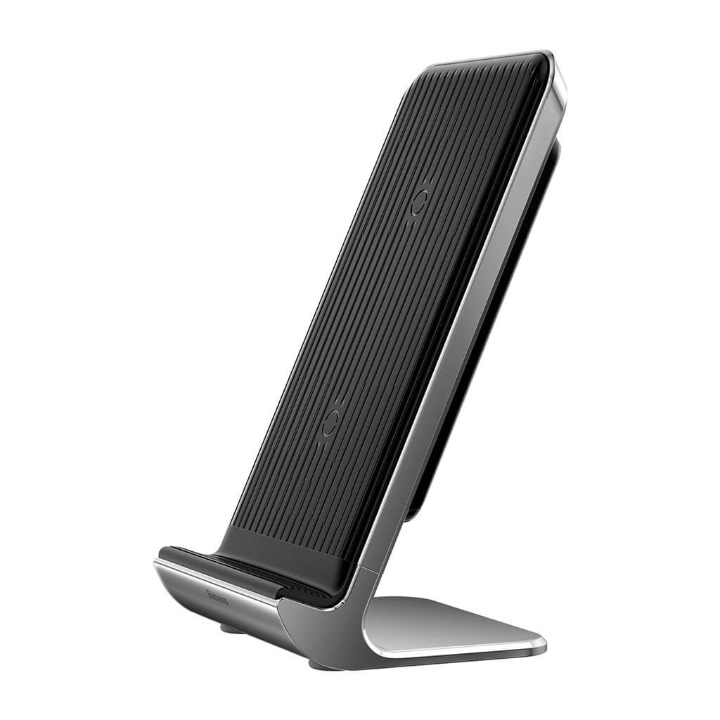 Baseus Vertical Desktop Wireless Charger Black