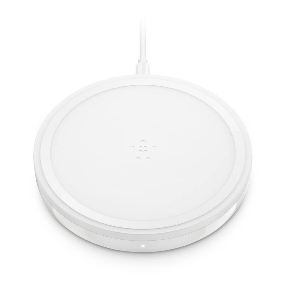 Belkin BOOST UP Bold Wireless Charging Pad 10W for Apple, Samsung, LG, Sony and QI compatible devices (white)