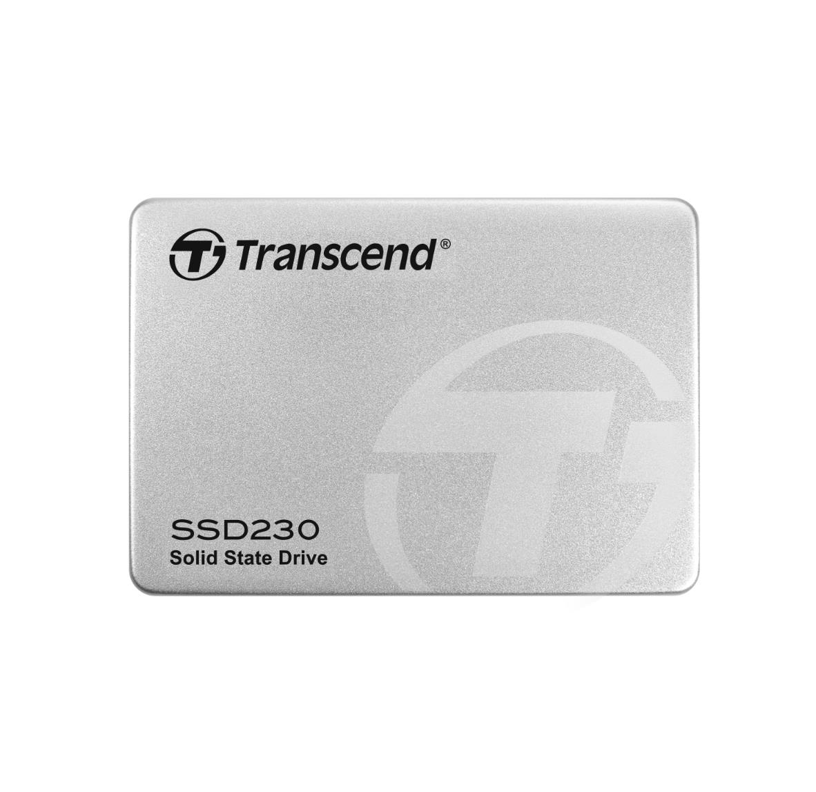 Transcend 512GB 2.5in. SSD230S SATA3 3D NAND Flash TLC - SSD диск, 512GB, 2.5 инча за преносими компютри