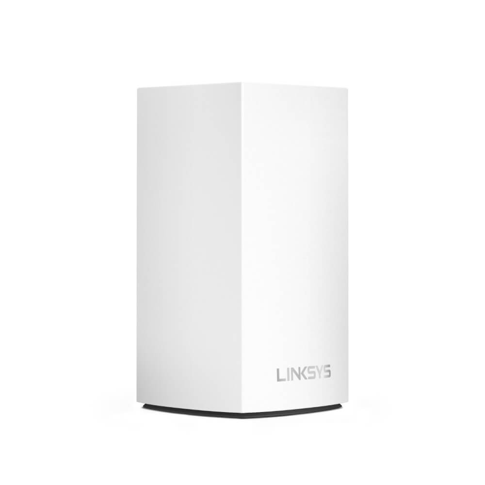 Linksys Velop AC1300 Intelligent Mesh WiFi System - интелигентна мрежова WiFi (рутер) система (бял)