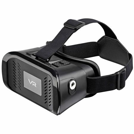Goji 3D Virtual Reality Headset For Universal Smartphones Devices (black)