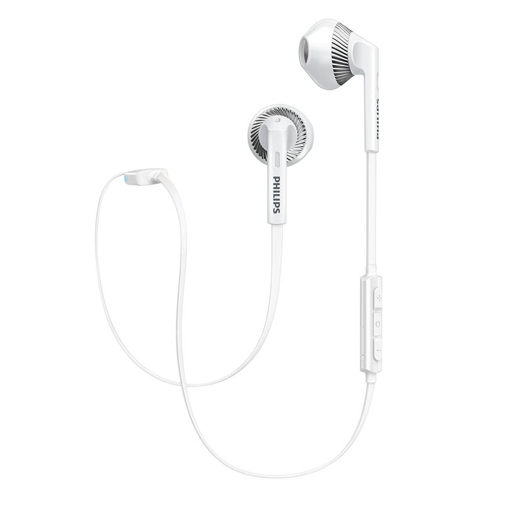 Philips MyJam SHB5250WT In-Ear Bluetooth Earphones (white)