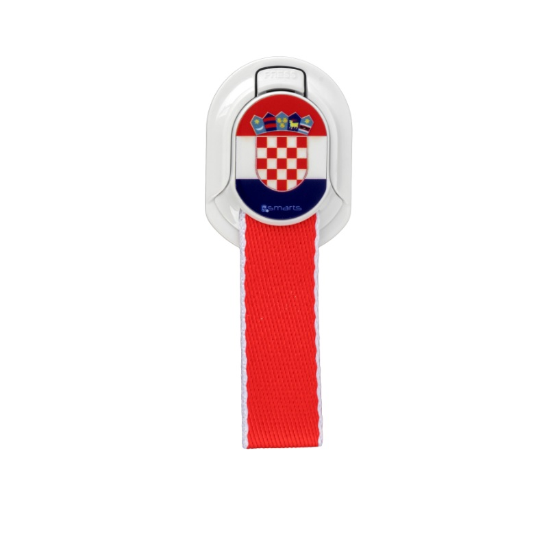 4smarts Loop-Guard Finger Strap Croatia (white/red)