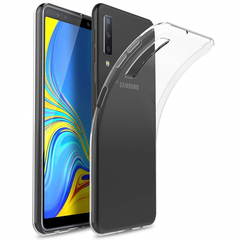Case FortyFour No.1 Case for Samsung Galaxy A7 (2018) (clear)