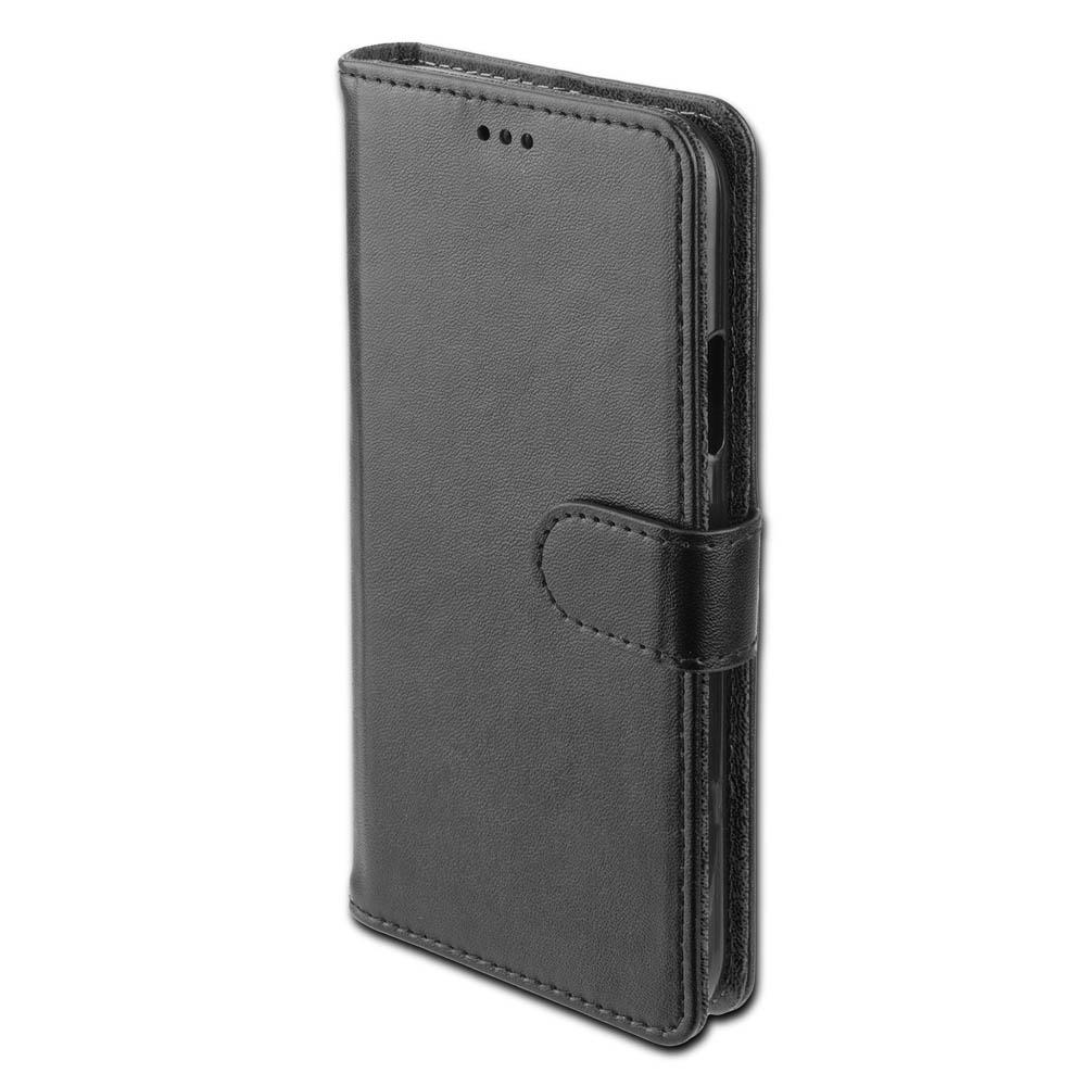4smarts Premium Wallet Case URBAN - кожен калъф с поставка и отделение за кр. карта за iPhone XR (черен)