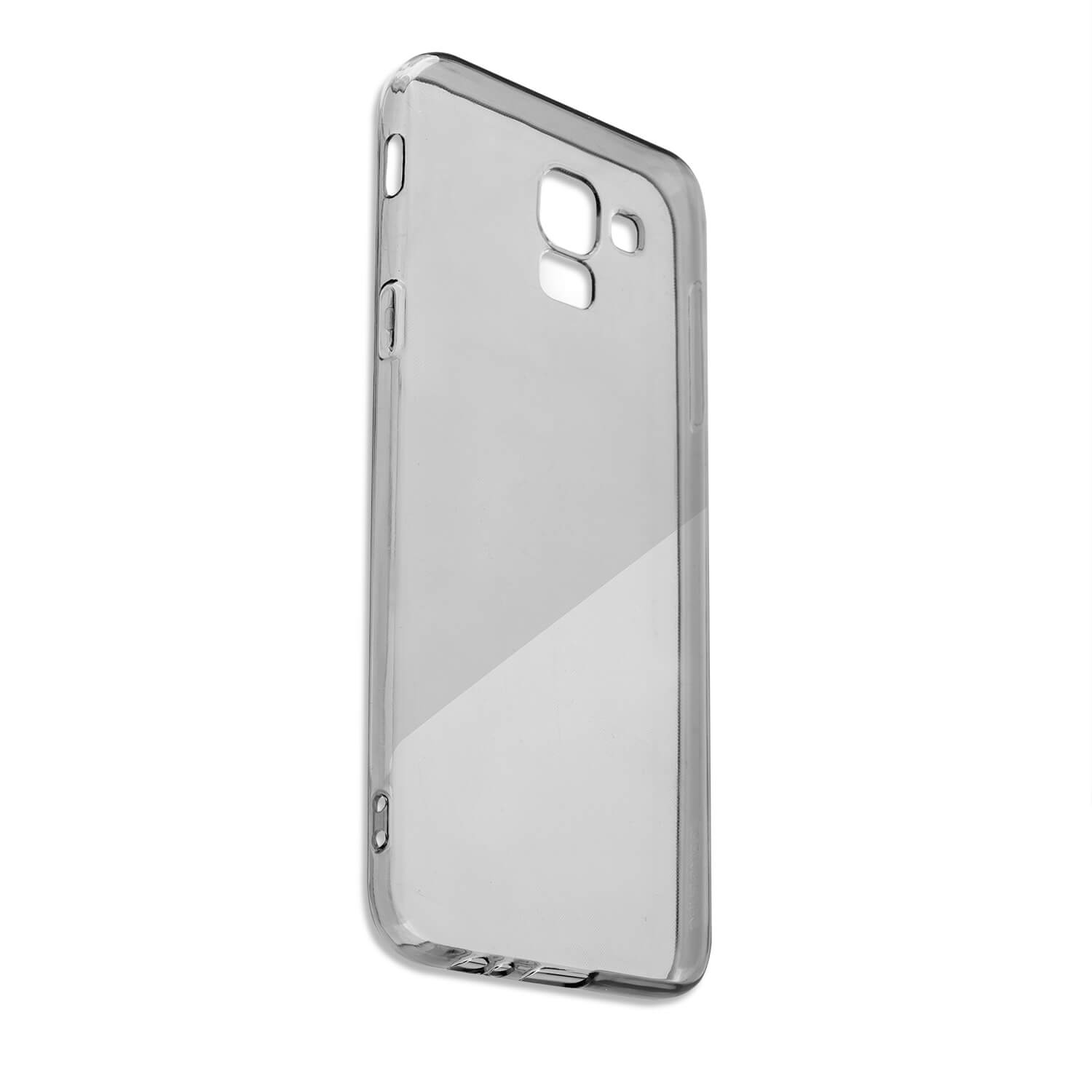 4smarts Soft Cover Invisible Slim - тънък силиконов кейс за Samsung Galaxy J6 Plus (черен)