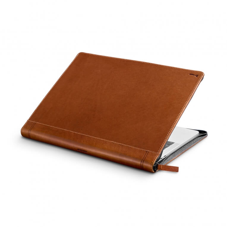 TwelveSouth Journal for MacBook Pro 13 USB-C - cognac