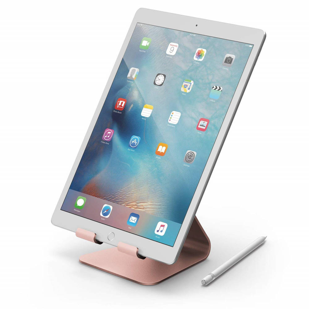 Elago P4 Stand (Silver) for iPad & Tablet PC (rose gold)