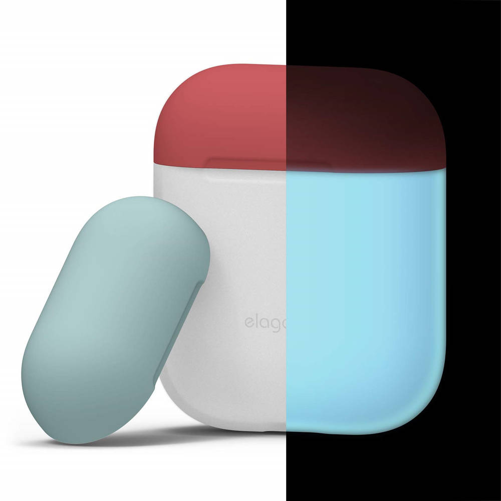 Elago Duo Silicone Case (night glow blue)