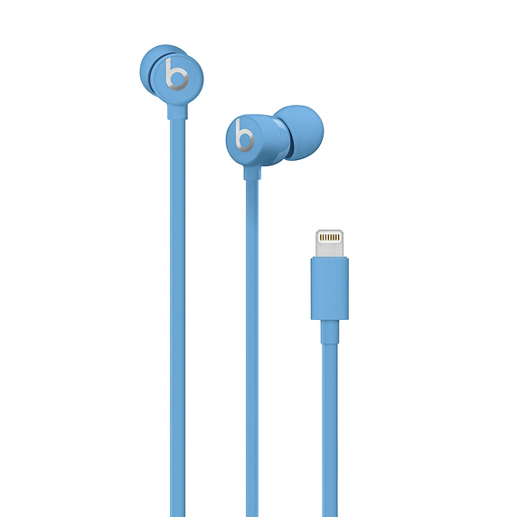 Beats urBeats3 Earphones with Lightning Connector - слушалки с микрофон за iPhone, iPod, iPad и устройства с Lightning конектор (син)