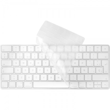 Moshi ClearGuard MK Keyboard Protector - силиконов протектор за Apple Magic Keyboard (прозрачен) (EU layout)