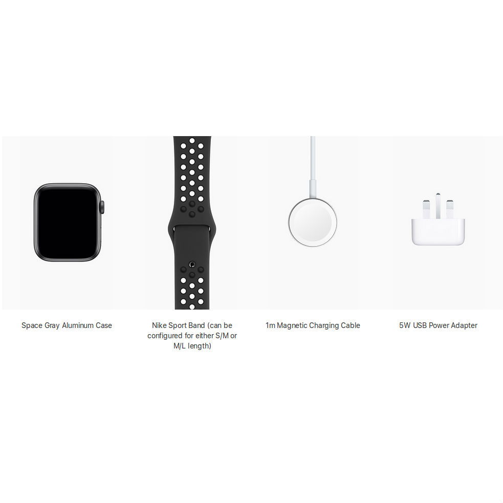 uk cheap sale best online best sell Apple Watch Nike+ Series 4, 40mm Space Gray Aluminum Case with  Anthracite/Black Nike Sport Band, GPS + Cellular - умен часовник от Apple