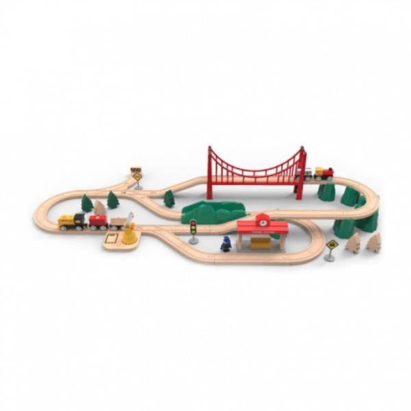 Xiaomi Mi Toy Train Set - детска играчка конструктор-влакче