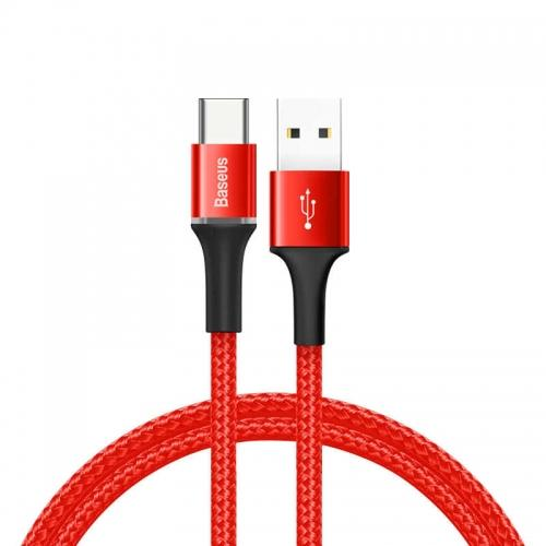 Baseus Halo USB-C Cable (50 cm) (red)