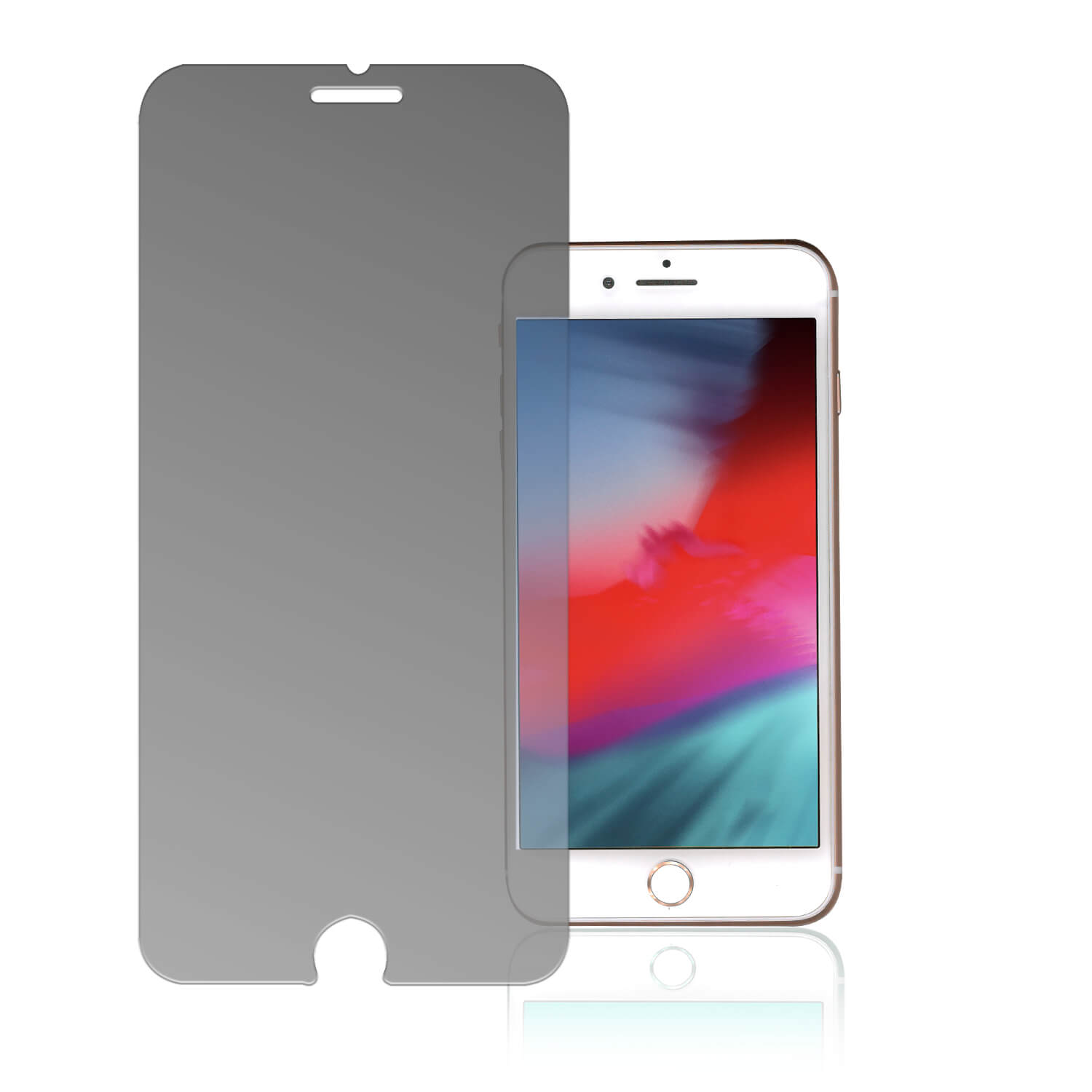 4smarts Second Glass Privacy Pro 4Way Anti-Spy for iPhone iPhone 8, iPhone 7