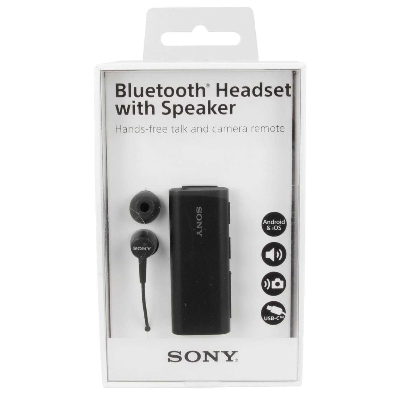 Sony Bluetooth Headset With Speaker Sbh56 Black Black Price Dice Bg