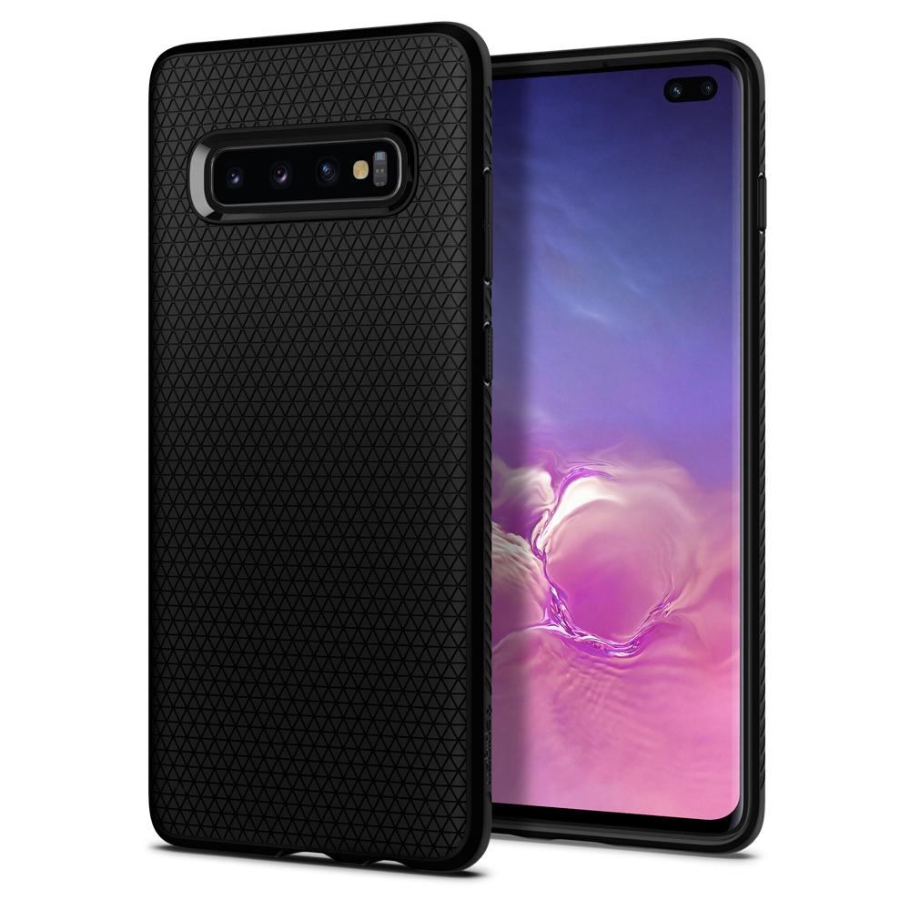 Spigen Liquid Air Case for Samsung Galaxy S10 Plus (black)