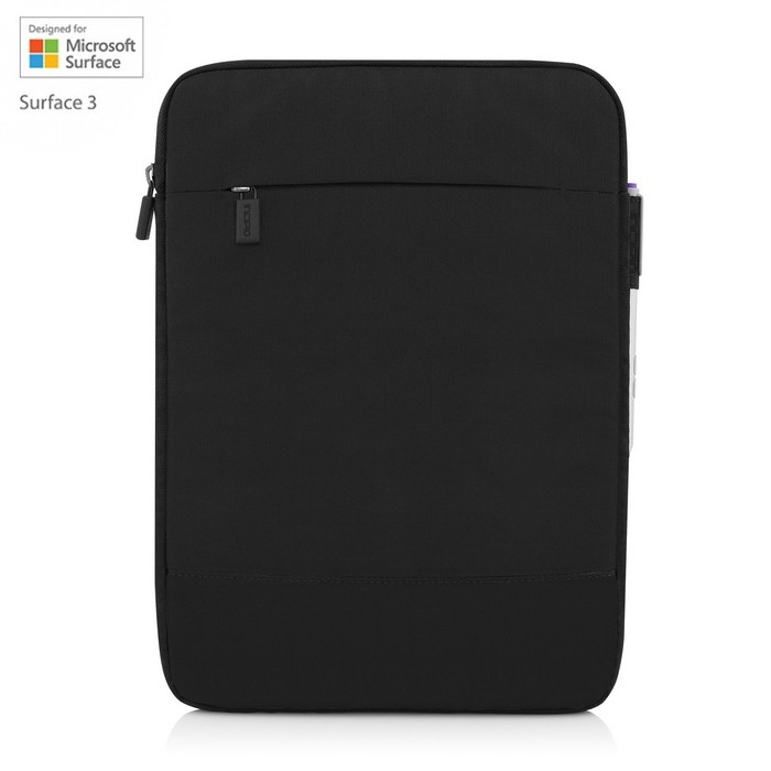 Incipio Asher Vertical Sleeve MRSF-086-BLK for Microsoft Surface 3
