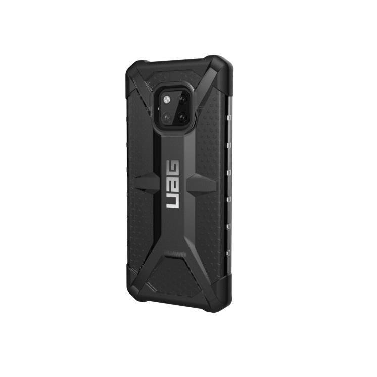 Urban Armor Gear Plasma - удароустойчив хибриден кейс за Huawei Mate 20 Pro (черен-прозрачен)