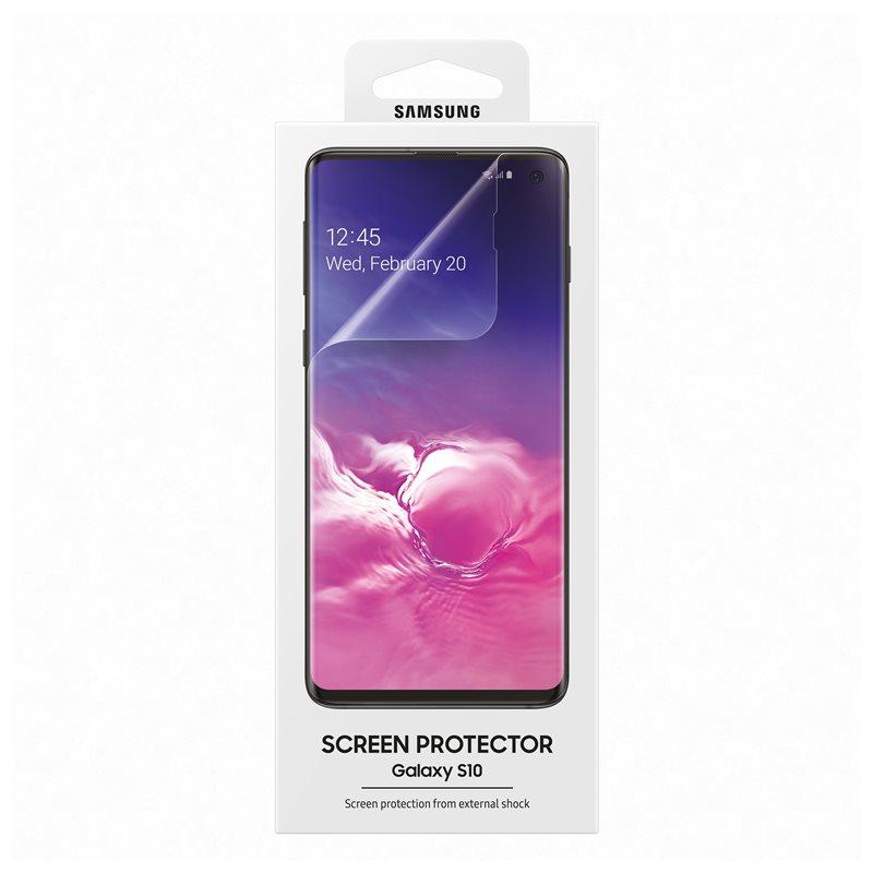Samsung Screen Protector ET-FG973CTEGWW - два броя оригинално защитно покритие за Samsung Galaxy S10