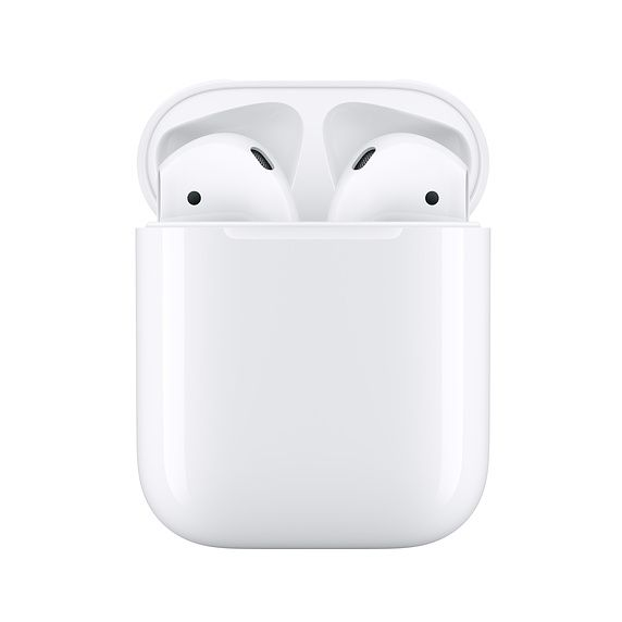 Apple AirPods 2 with Charging Case - оригинални безжични слушалки за iPhone, iPod и iPad