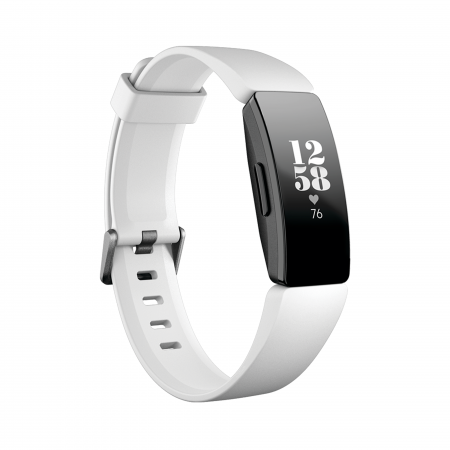 Fitbit Inspire HR  (white/black)
