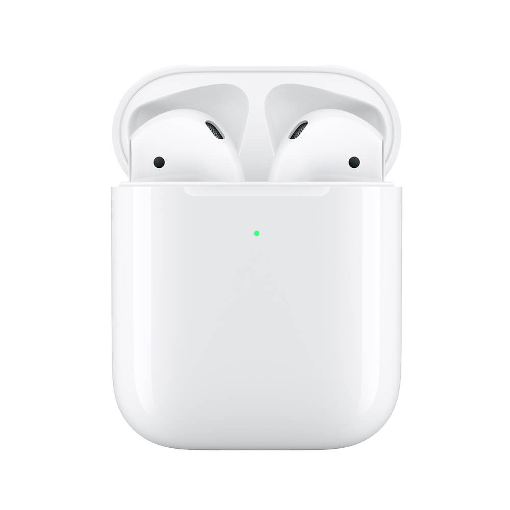 Apple AirPods 2 with Wireless Charging Case for iPhone, iPod, iPad