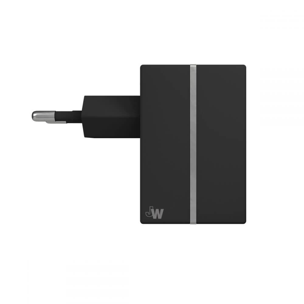 Just Wireless Mains Charger 2.4A EU (black)