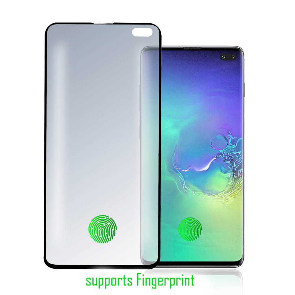 4smarts Curved High Flex Screen Protector with Fingerprint Detection - защитно покритие за дисплея на Samsung Galaxy S10 Plus (прозрачен)
