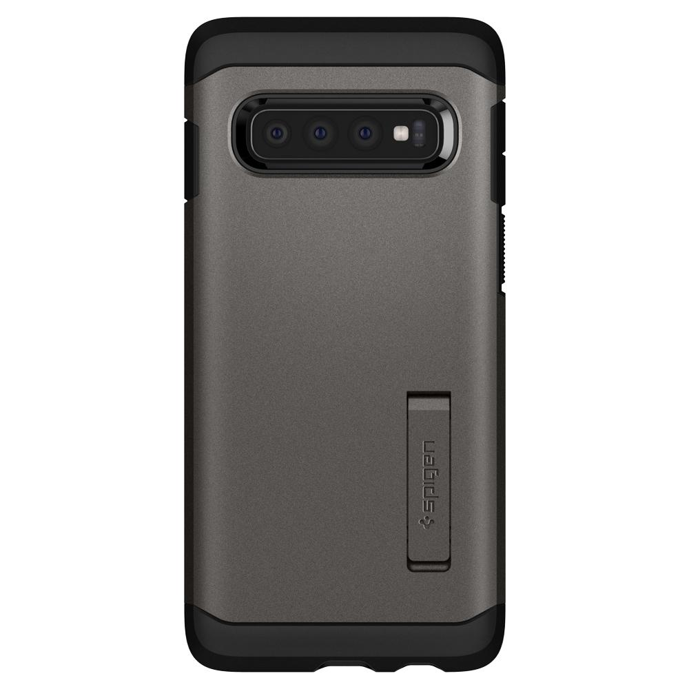 Spigen Tough Armor Case for Samsung Galaxy S10 (gray)