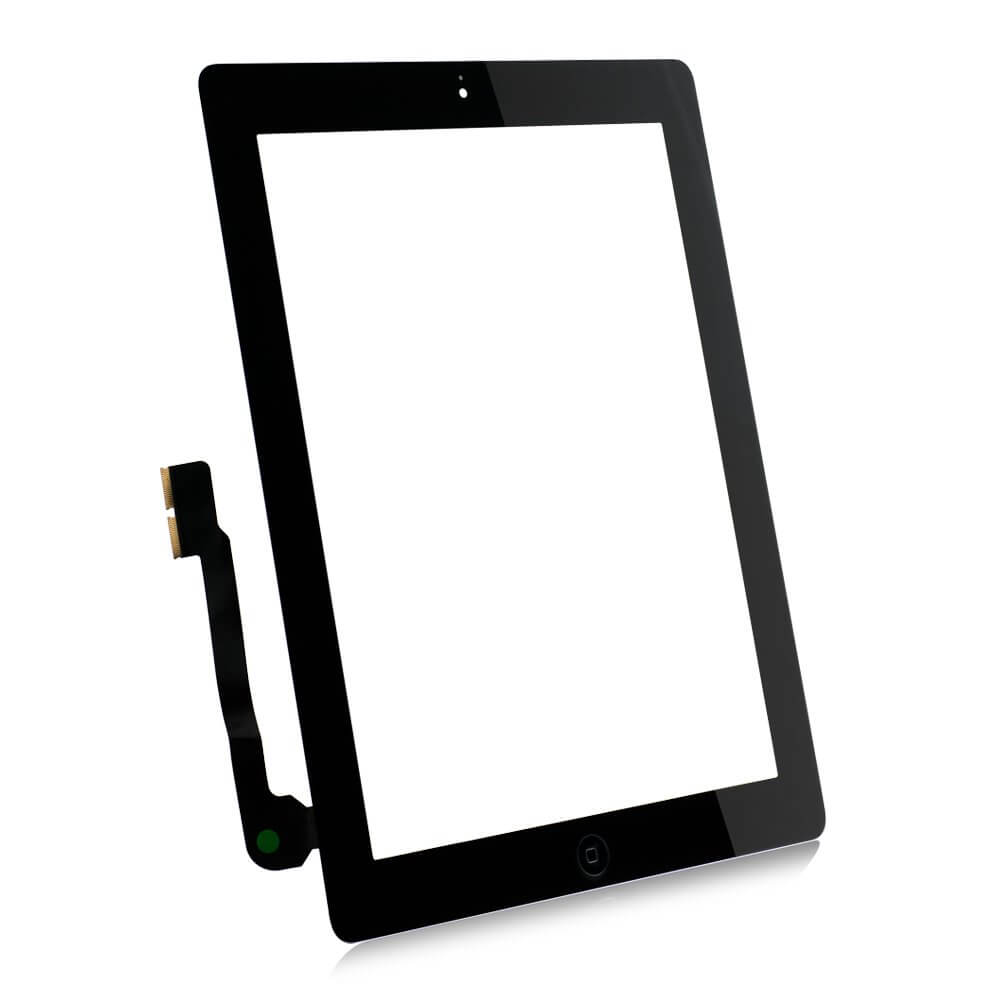 OEM iPad 4 Touch Screen Digitizer with Home button and Glass
