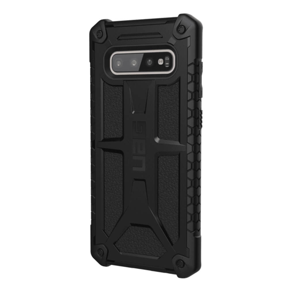 finest selection ca6fa 0b05e Urban Armor Gear Monarch - удароустойчив хибриден кейс за Samsung Galaxy  S10 Plus (черен)
