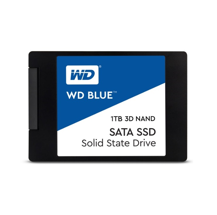 Western Digital SSD 1TB 2.5in. SATA III 3D NAND, read-write up to 560MBs, 530MBs - 2.5 инчов сата SSD III хард диск 1TB