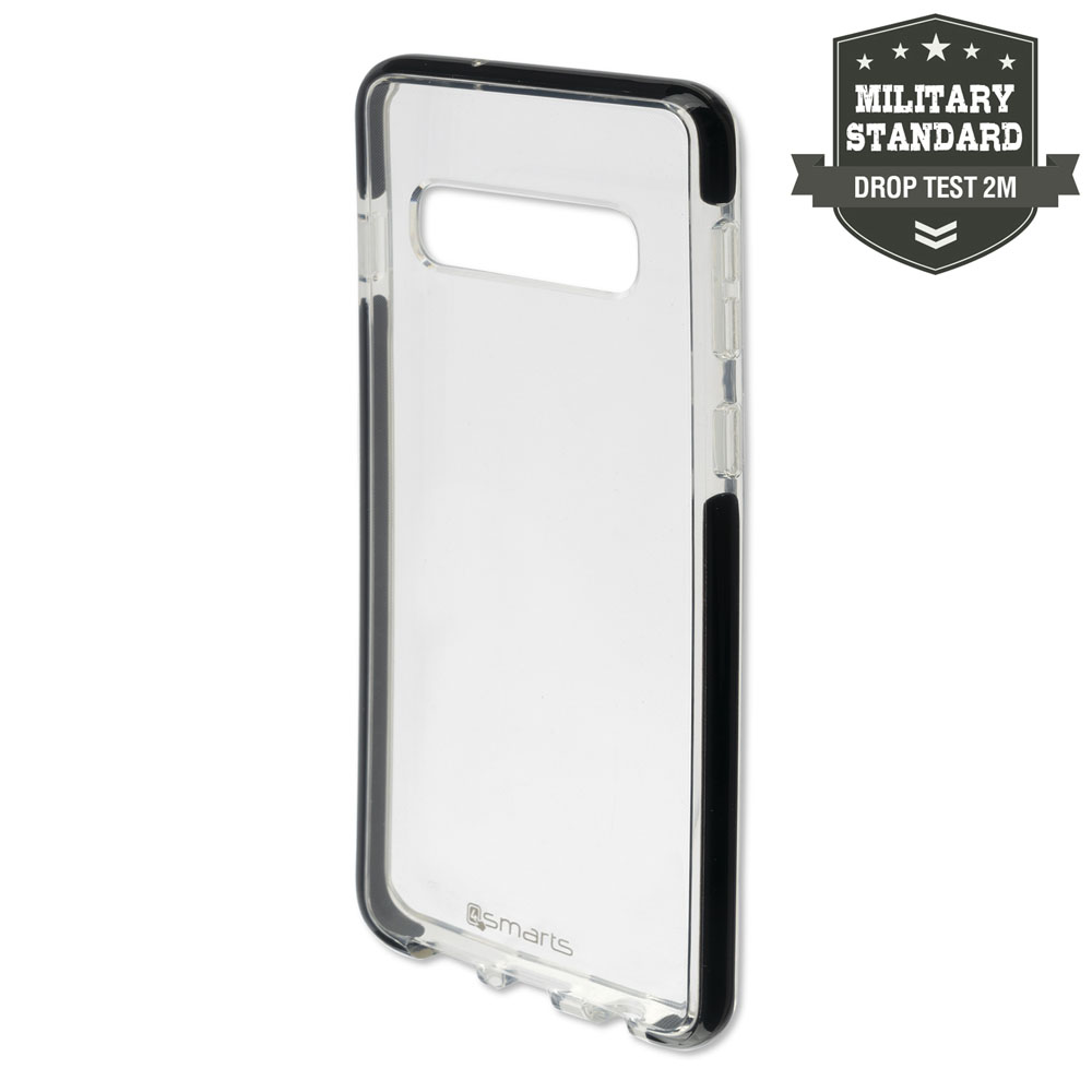 4smarts Soft Cover Airy Shield for Samsung Galaxy S10 (black-transparent)