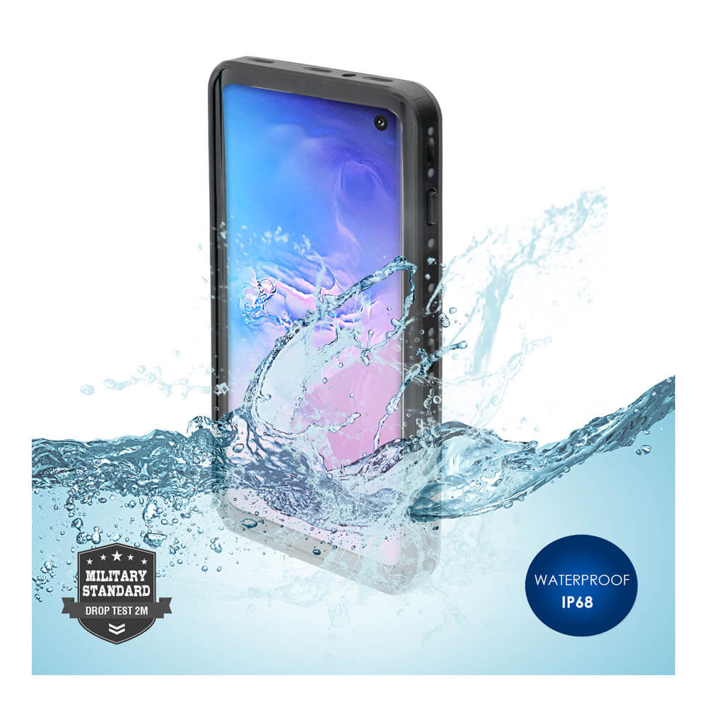 4smarts Rugged Case Active Pro STARK for Samsung Galaxy S10 Plus (black)