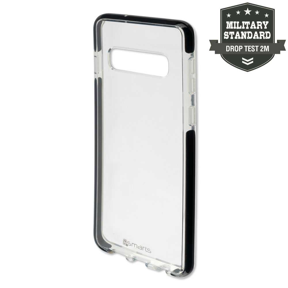 4smarts Soft Cover Airy Shield for Samsung Galaxy S10 Plus (black-transparent)