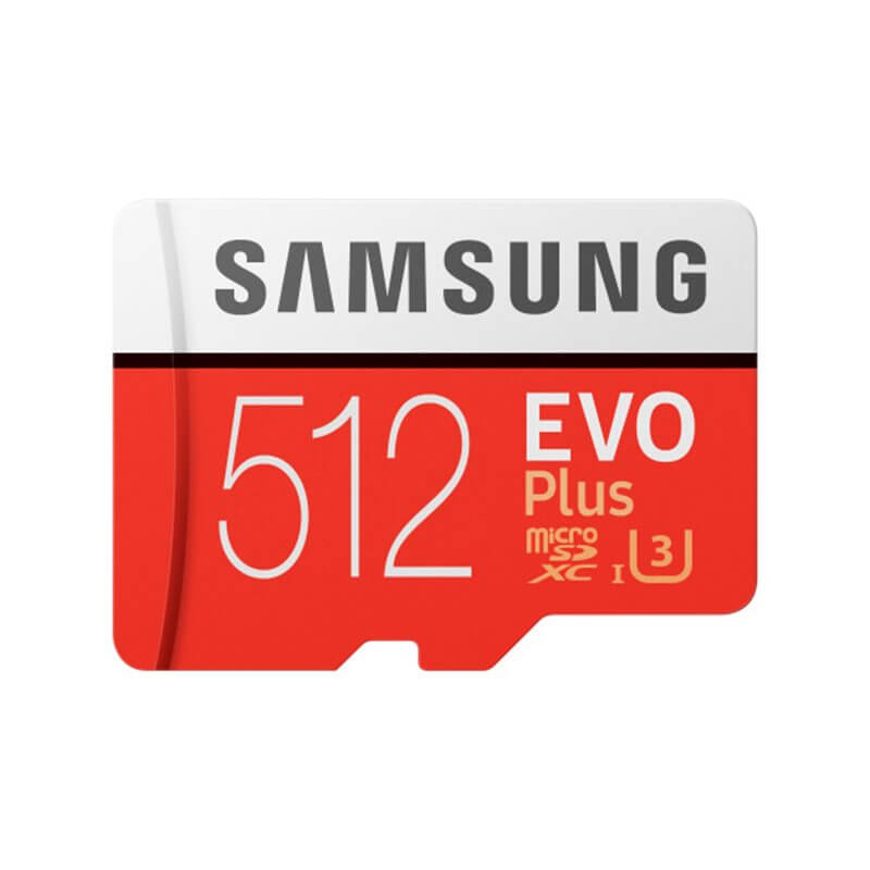 Samsung MicroSDXC 512GB EVO Plus UHS-I Memory Card U3, 4K Ultra HD Video