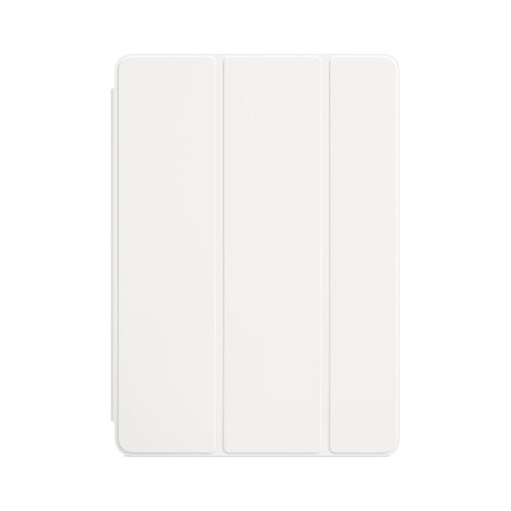 Apple Smart Cover - оригинално полиуретаново покритие за iPad 6 (2018), iPad 5 (2017) (бял)