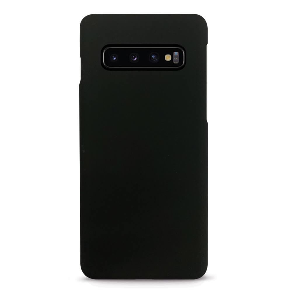 Case FortyFour No.3 Case - поликарбонатов кейс за Samsung Galaxy S10 Plus (черен)
