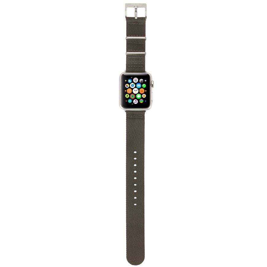 Incase Nylon Nato Band for Apple Watch 38mm (anthracite)