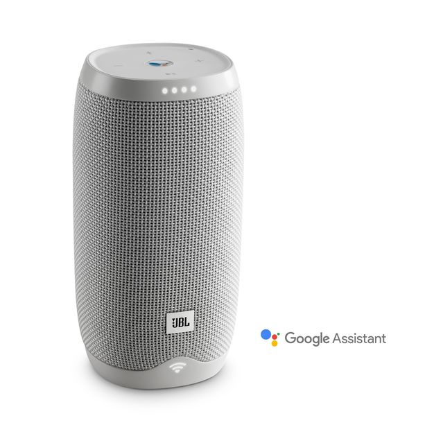 JBL Link 10 Voice-activated portable speaker (white)