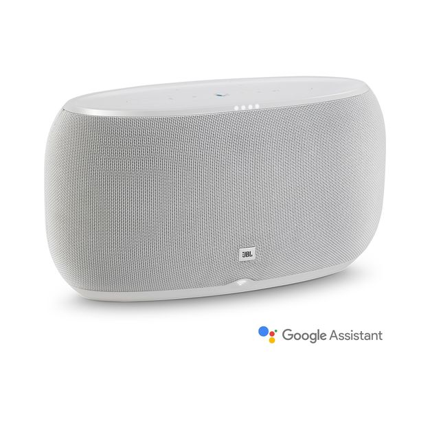 JBL Link 500 Voice-activated portable speaker (white)