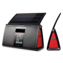 Eton Soulra XL 500 - Solar Powered Sound System for iPod, iPhone and mobile devices