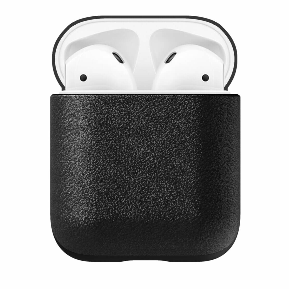 Nomad Leather Case for Apple Airpods (black)