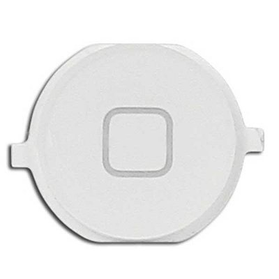 OEM Home Button - резервен Home бутон за iPhone 4S (бял)