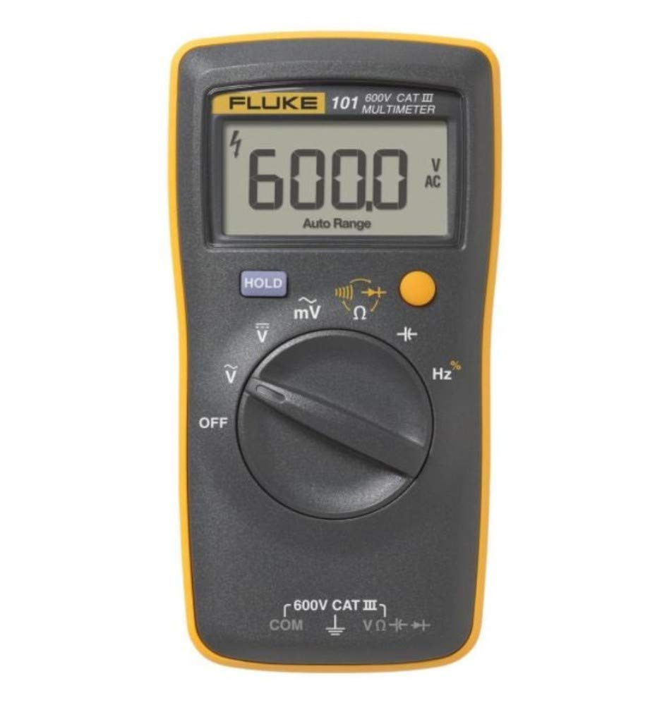 Fluke 101 Basic Digital Multimeter Pocket Portable Meter Equipment Industrial - професионален мултиметър