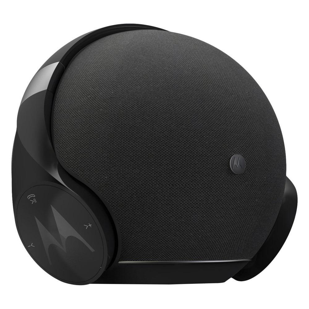Motorola Sphere Plus 2in1 Bluetooth Speaker with Headset Set - комплект безжични слушалки и безжичен спийкър за мобилни устройства (черен)