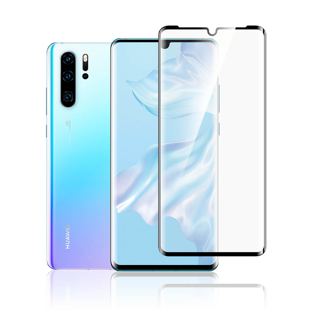 Torrii BodyGlass 3D Curved Edge Glass for Huawei P30 Pro (black)